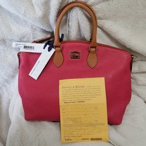DOONEY & BOURKE 4P968 PINK DILLEN SATCHEL